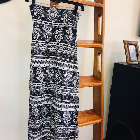 B Jewel Dresses & Skirts - Long tribal patterned skirt